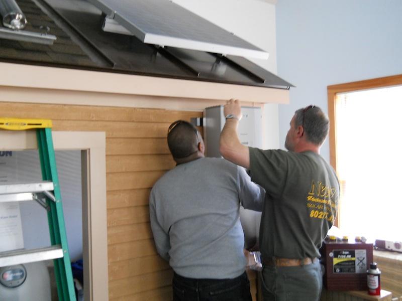 Mounting an inverter