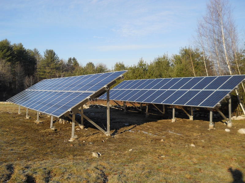 Ground Mount Pv Solar Energy System Design And